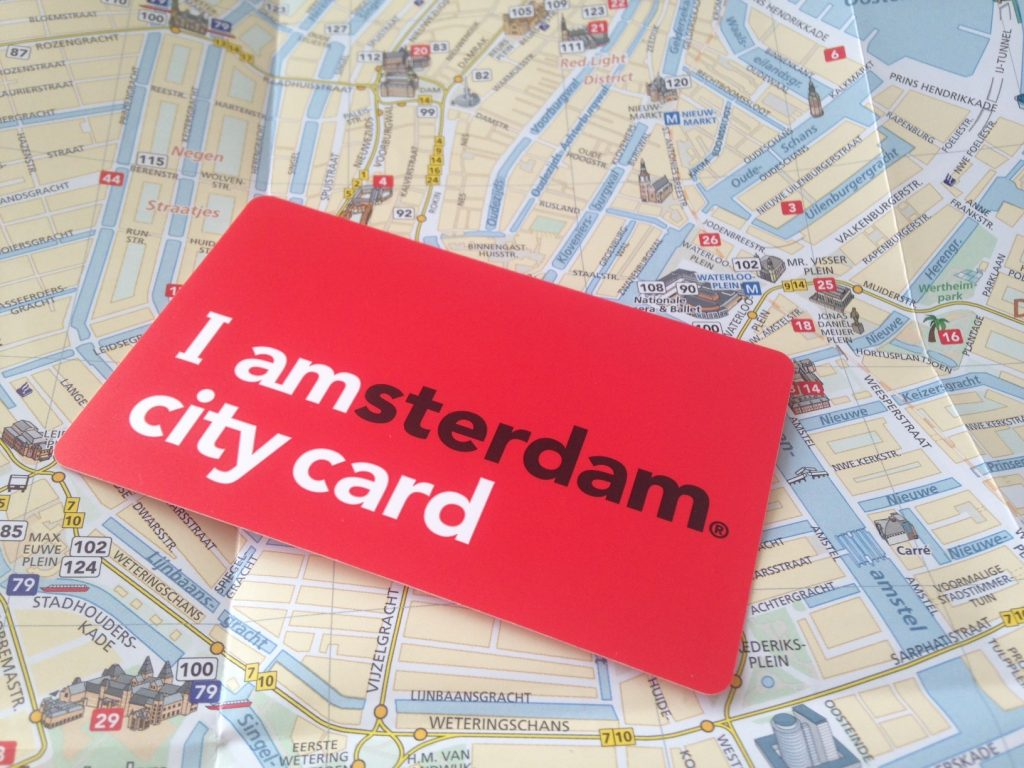 Туристическая карта I amsterdam city card