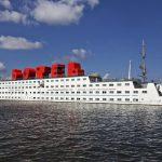 Необычные отели Амстердама. Botel на воде