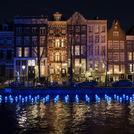 Amsterdam Light Festival 2017 - Flower Strip - Aether & Hemera - Copyright Janus van den Eijnden