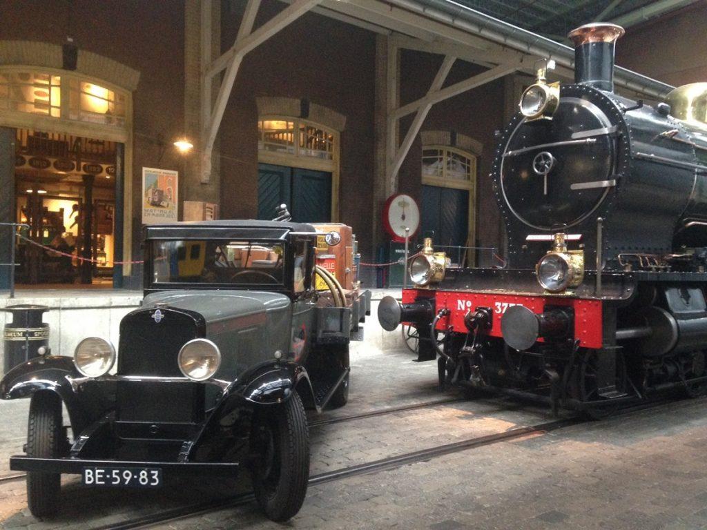 Железнодорожный музей Spoorwegmuseum в Утрехте.