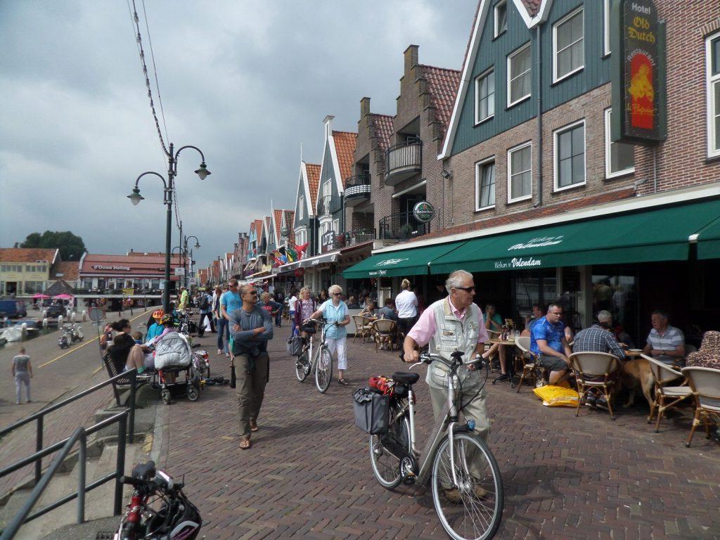 Волендам, рыбацкая деревня недалеко от Амстердама