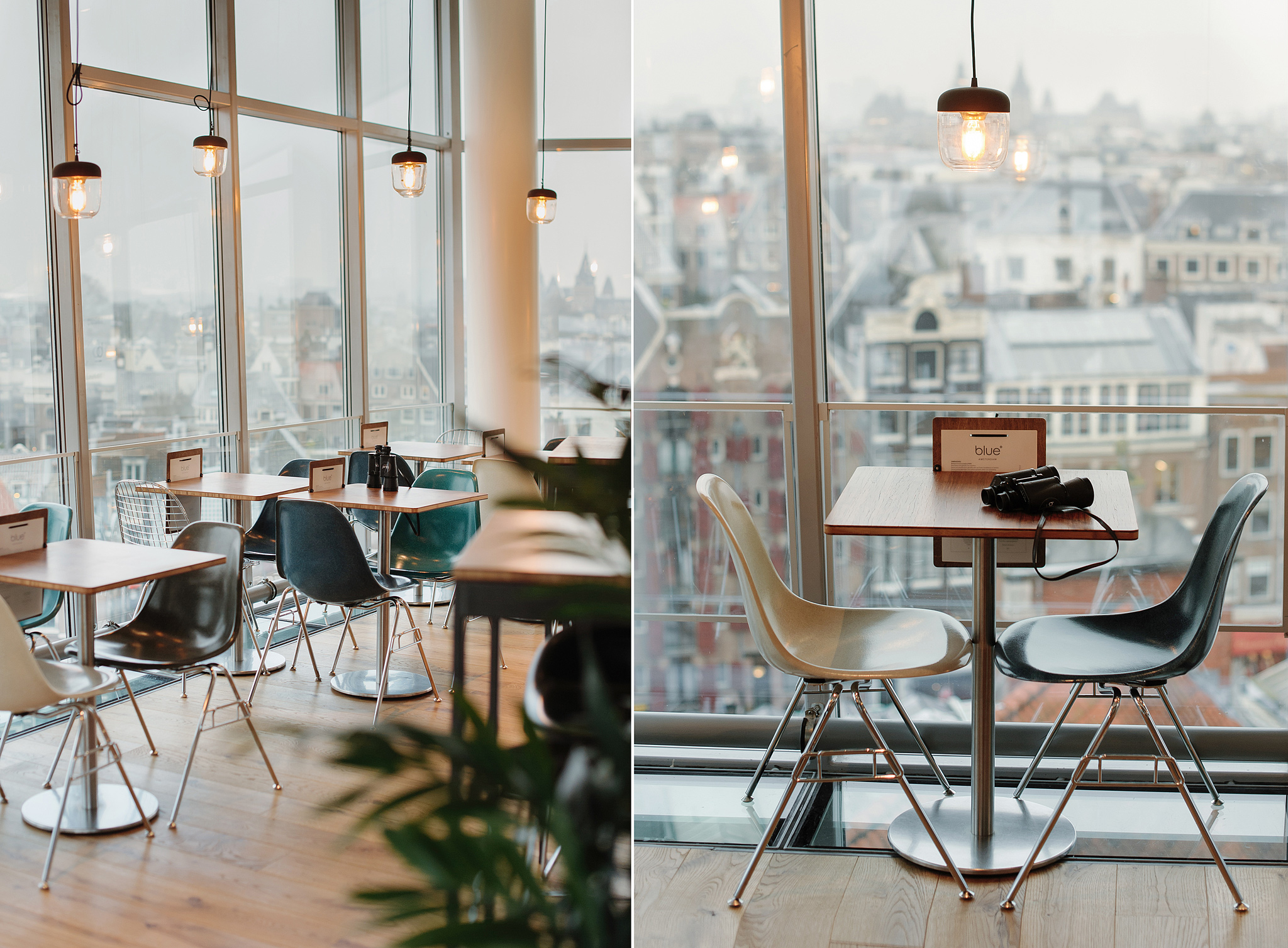 Blue Amsterdam, кафе в торговом центре Kalvertoren
