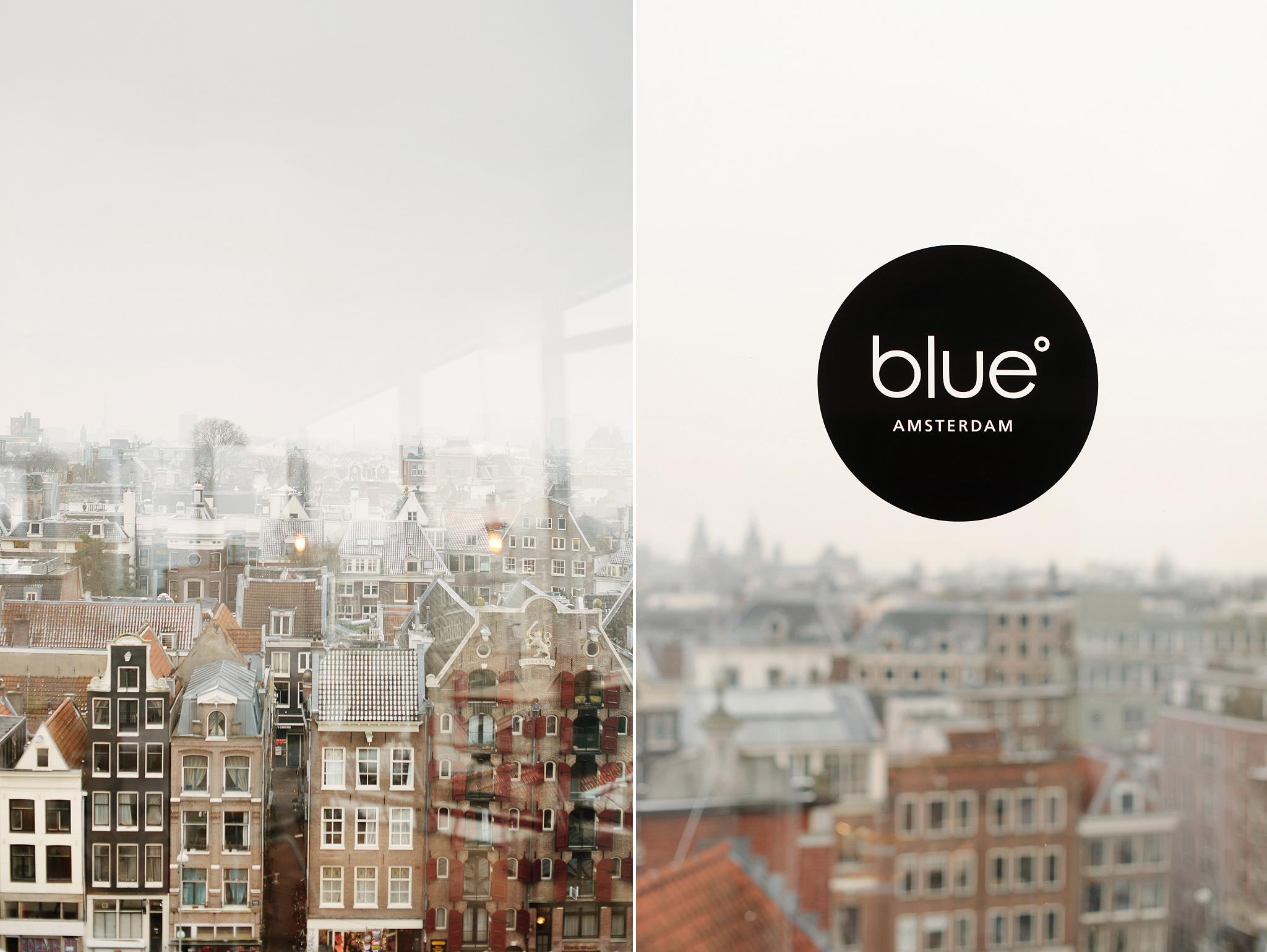Blue Amsterdam, кафе с панорамным видом на старый город в Амстердаме