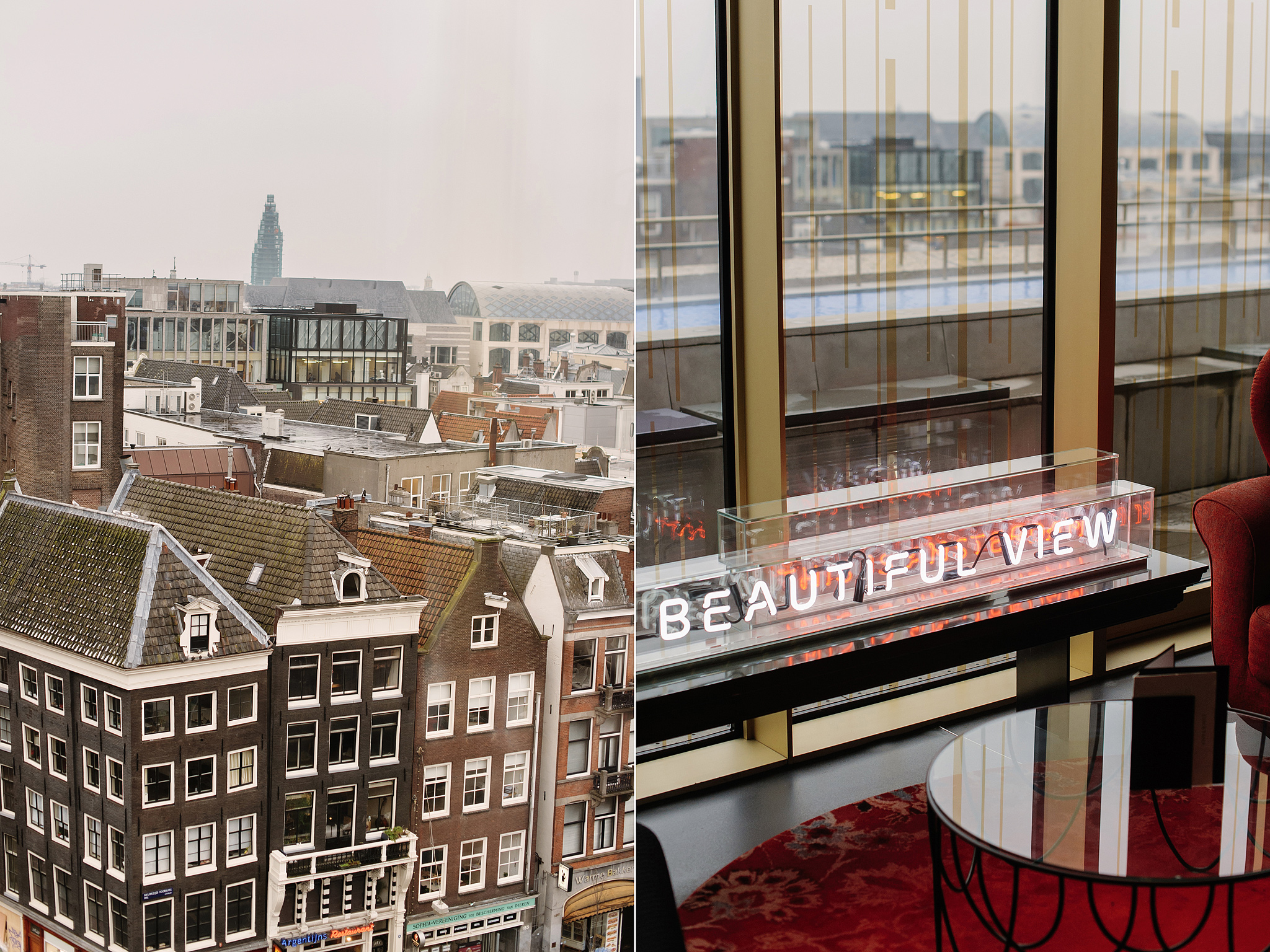 W Amsterdam отель W Lounge