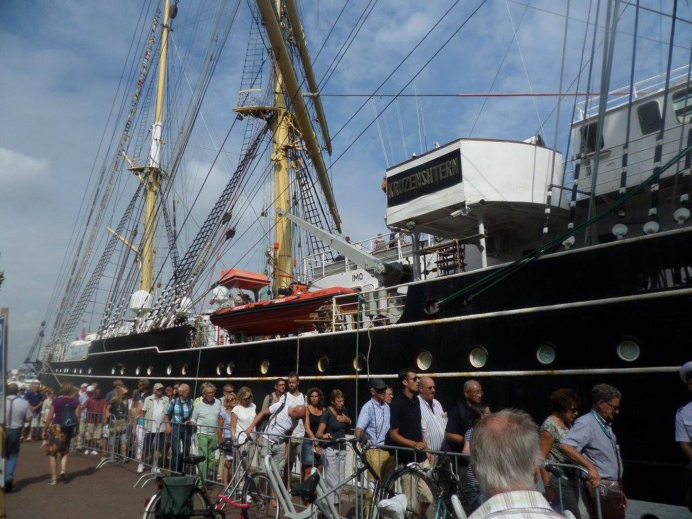 SAIL Amsterdam: парад кораблей
