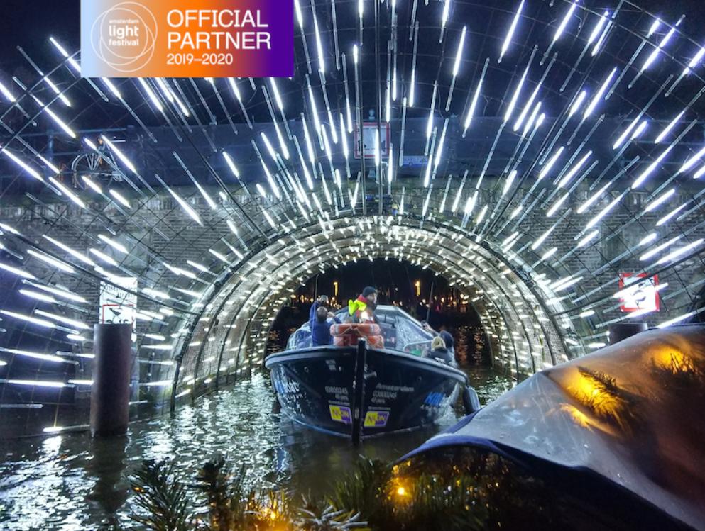 Amsterdam Light Festival, KINboat