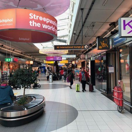 Как добраться из аэропорта до центра Амстердама?
