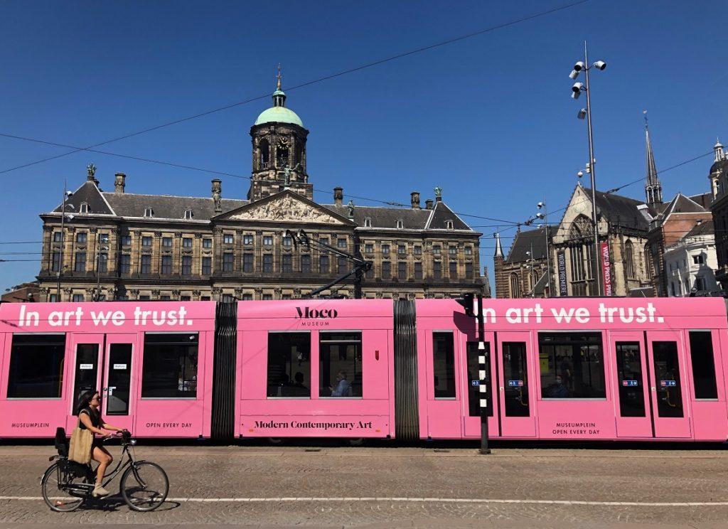 Как пользоваться транспортом в Амстердаме?