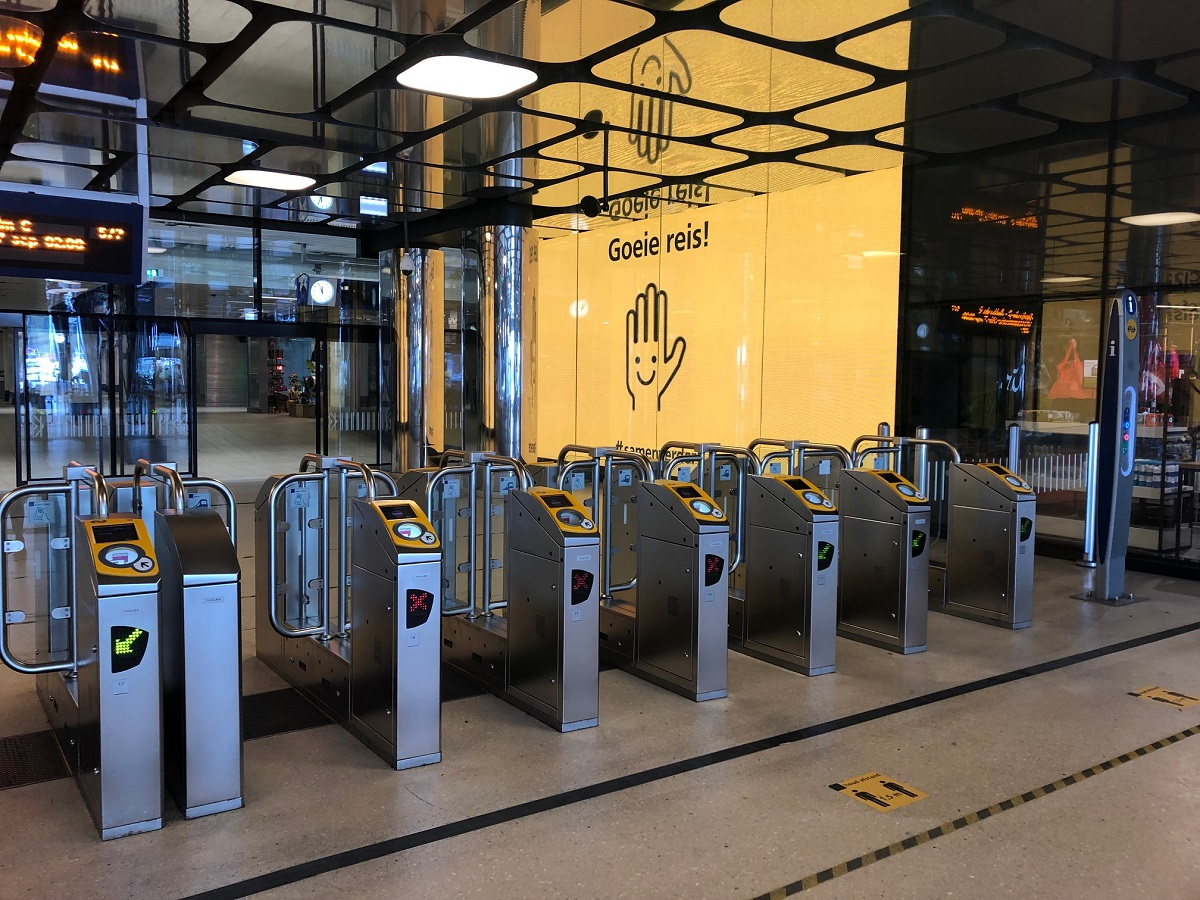 Общественный транспорт в Голландии: Что такое чек-ин и чек-аут?