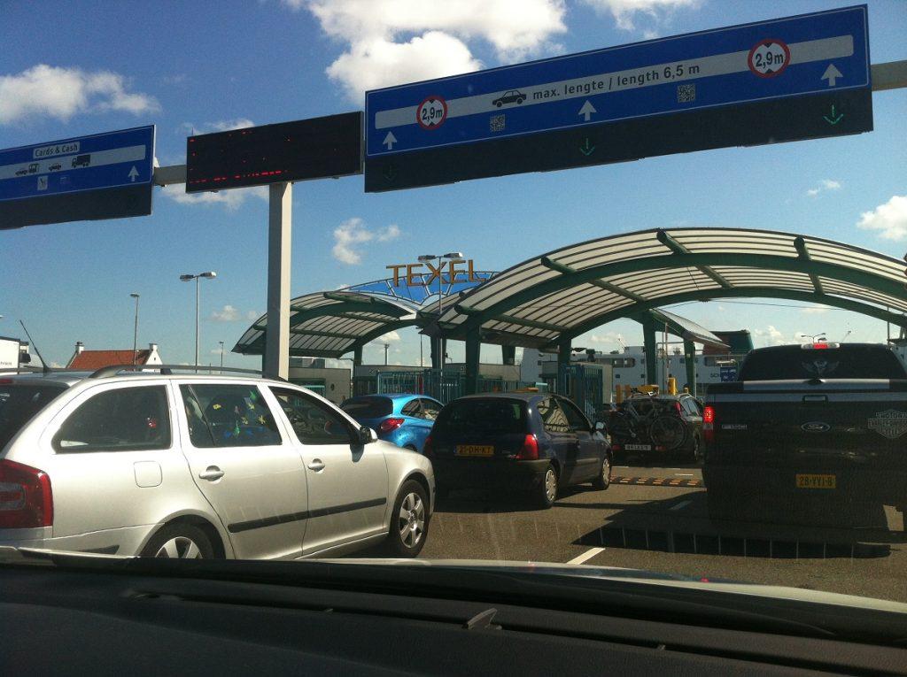 Как добраться до Тессела на машине? Порт Ден Хелдер. Порт Тексел.