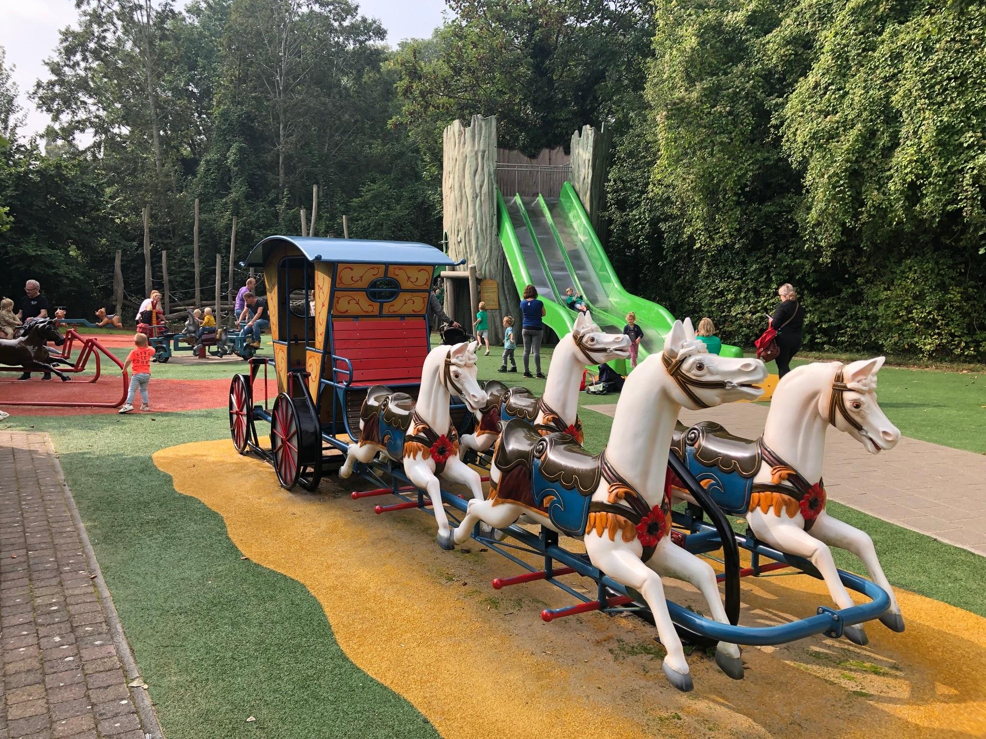 Сказочный парк Sprookjeswonderland: Нидерланды в детьми