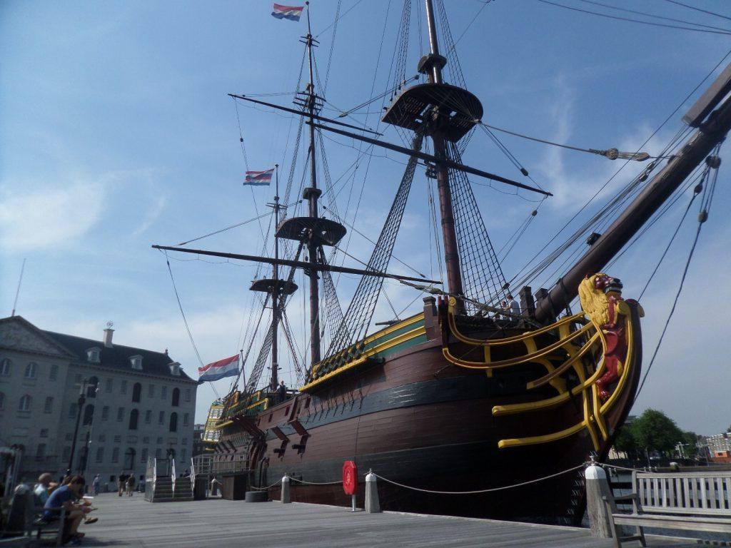 Морской музей в Амстердаме