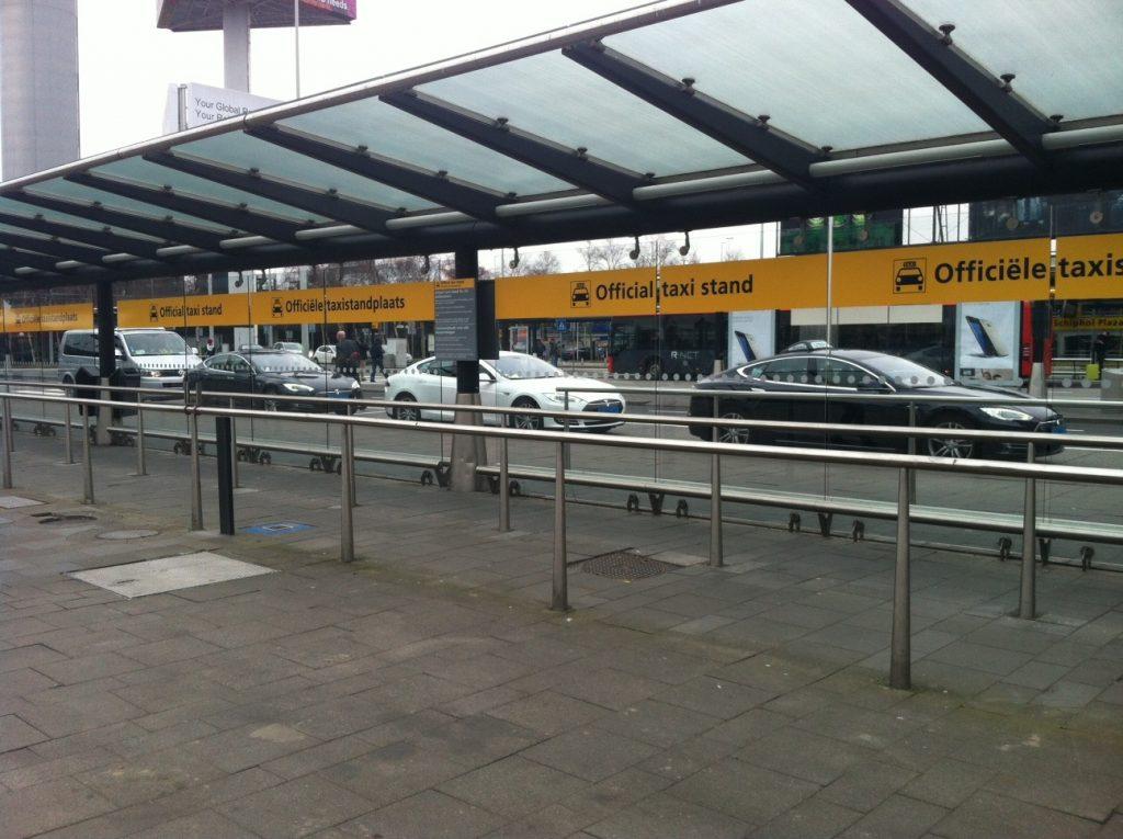 Такси из аэропорта до центра Амстердама