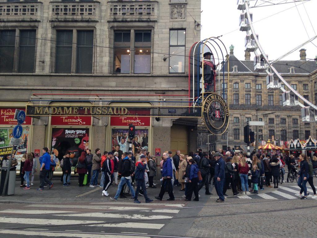 Музей Мадам Тюссо в Амстердаме: адрес, время работы, билеты