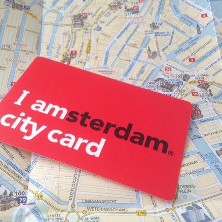 Туристическая карта I amsterdam city card