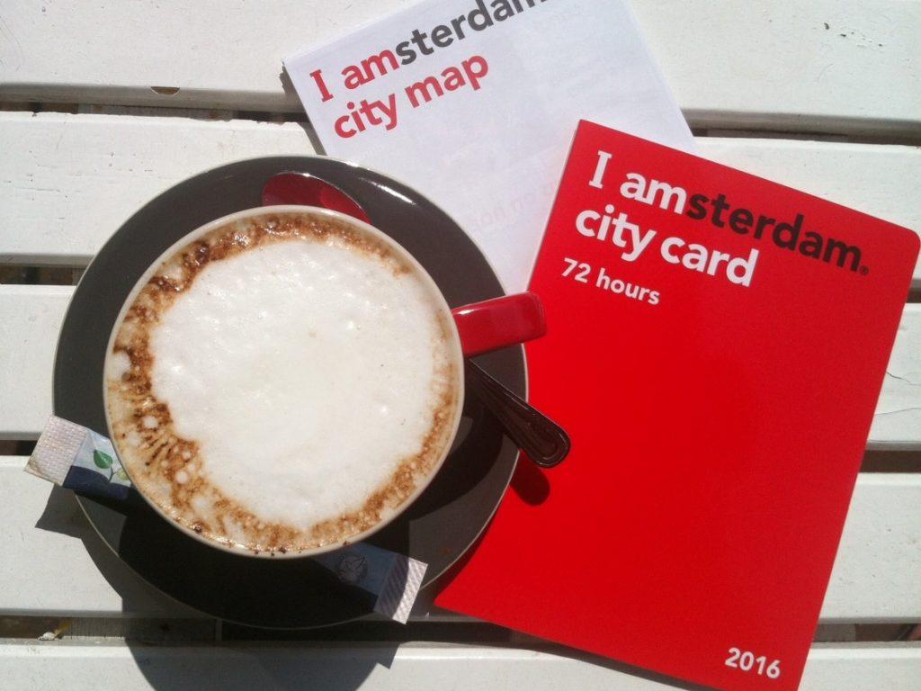 Амстердам, карта туриста