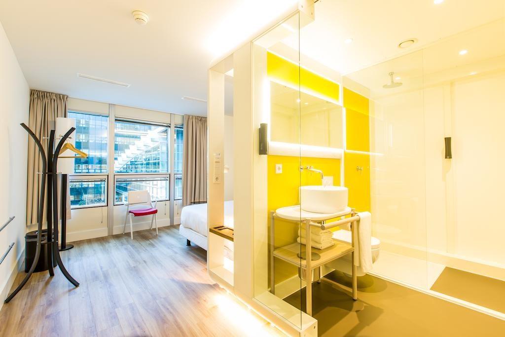 Необычные отели Амстердама. Qbic Hotel WTC Amsterdam 3-звездочный отель