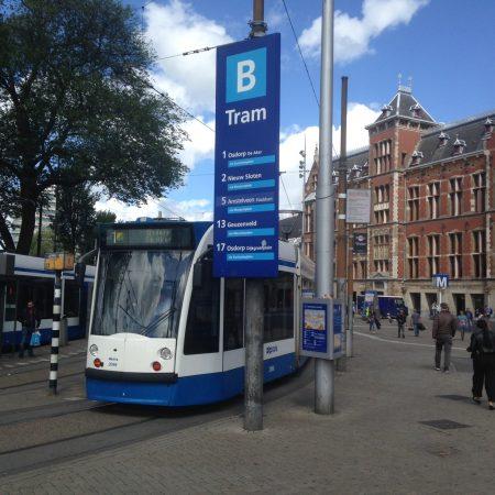 Трамваи в Амстердаме: расписание, маршруты, билеты