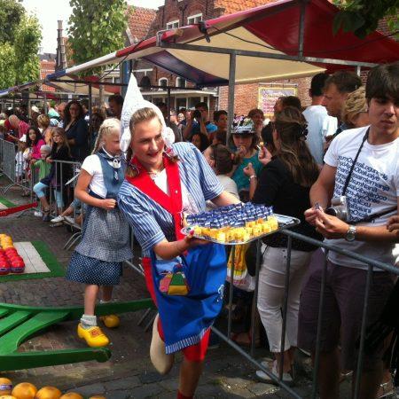 Сырный рынок в Эдаме