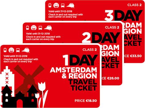 Как пользоваться Amsterdam & Region Travel Ticket