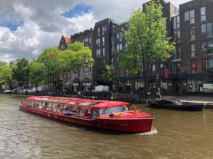 Hop-on-hop-off в Амстердаме. Маршруты