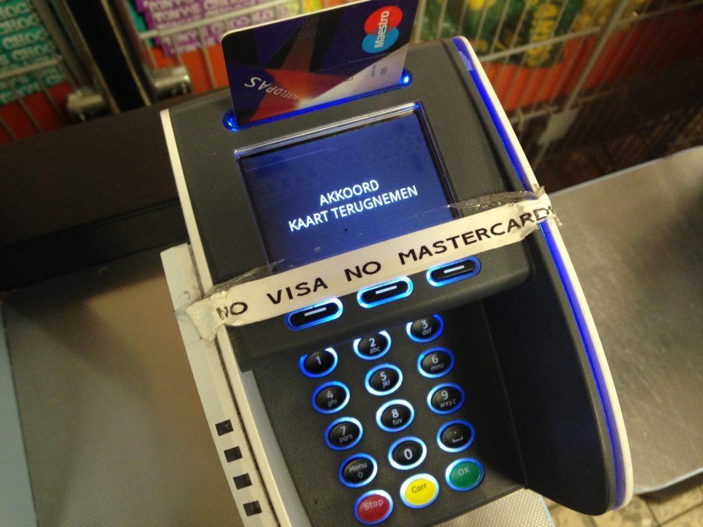 Почему в Голландии возникают проблемы с картами MasterCard и Visa?