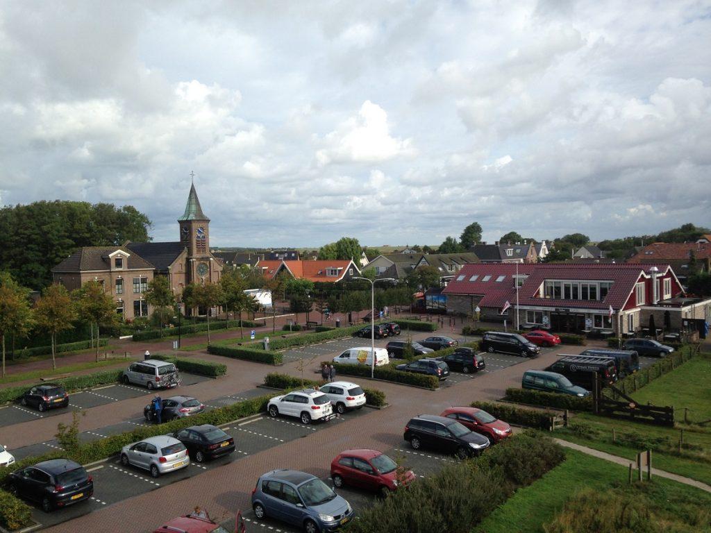 Парковка на острове Тессел (Texel)
